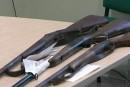 В Рахові здають несправну зброю