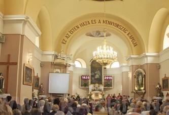 16 травня 2015 відбулася урочиста Меса та концерт у Римо-католицькій церкві м.Рахів