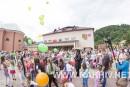 Новини Рахів. Дитячий майданчик відкриття м.Рахів 28.06.2015 (фото)