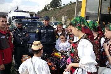 На День добросусідства України та Румунії Рахівські рятувальники провели акцію «Запобігти. Врятувати. Допомогти»