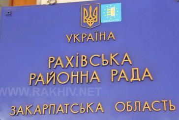 Результати голосування Рахівська районна рада. Список депутатів Рахівської районної ради.