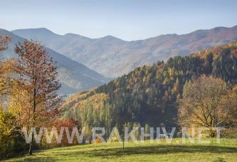 Добірка фото Рахів осінь.