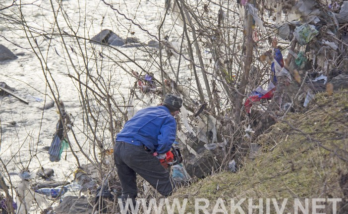 У новий рік з чистими берегами Тиси. Рахів новини