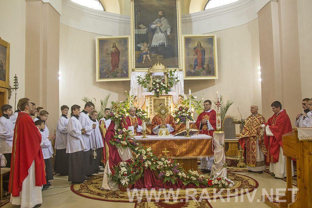 свята_меса_римо-католицька-церква_рахів
