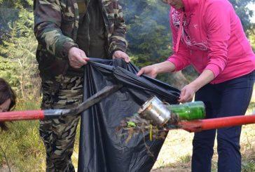 Працівники ДП «Ясінянське ЛМГ» прибрали туристичний маршрут до «Початку річки Чорна Тиса»