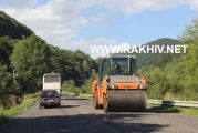 Як ремонтують дорогу на відрізку Кевелів-Свидівець. Фото. Новини Рахівського району