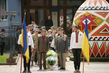 У м. Рахів відзначають День пам'яті і примирення та 73-ю річницю перемоги над нацизмом