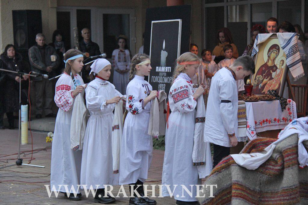 рахів-2018_вшанування_памяті_жертв_голодоморів