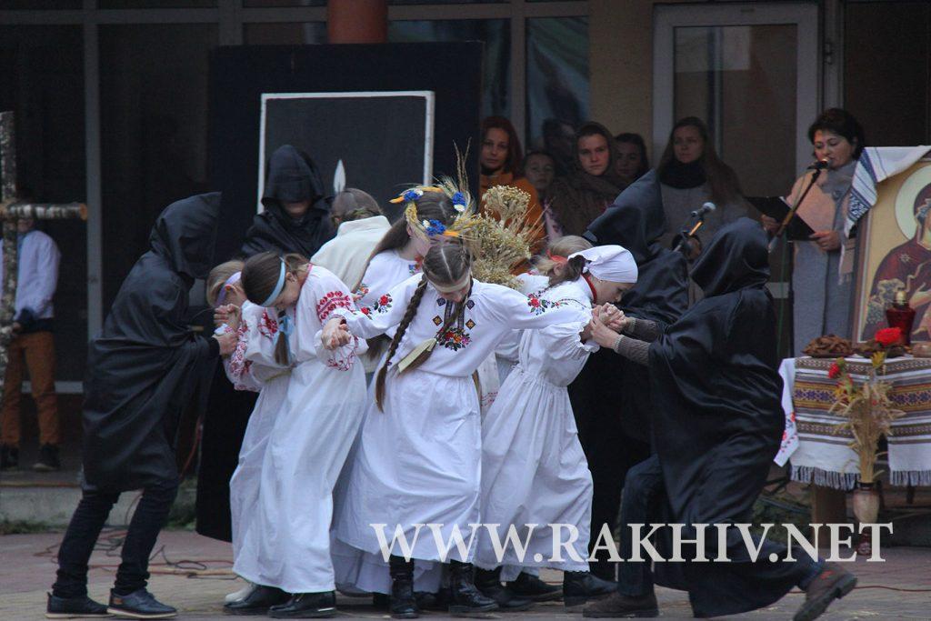 рахів_2018_вшанування_памяті_жертв_голодоморів