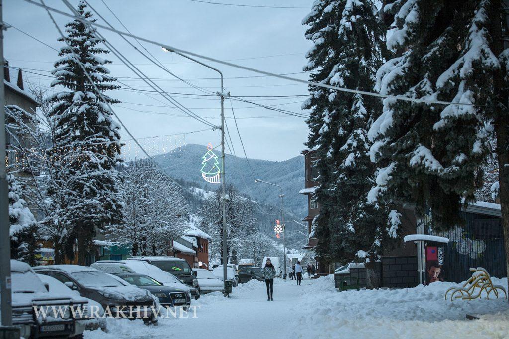 Рахів_зима