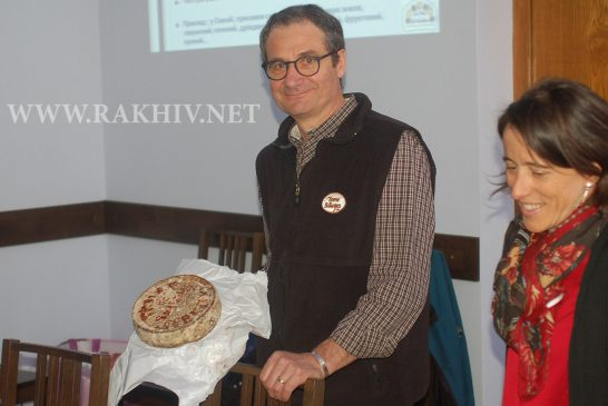 Експерти із Франції чотири дні навчали  рахівчан тонкощам маркетингу овечої бринзи  та гірського меду.